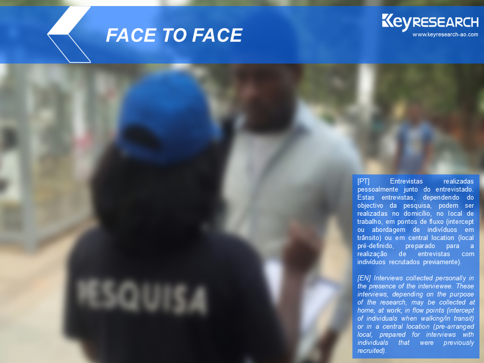 Keyresearch Angola - FACE TO FACE