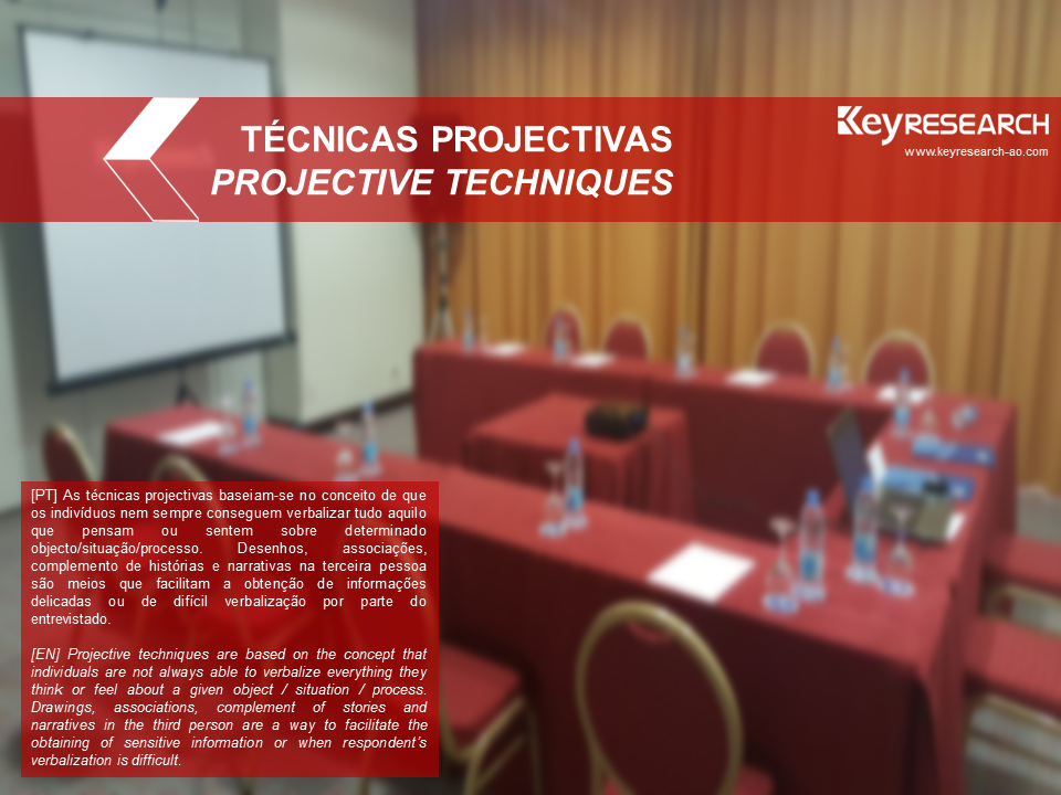 Keyresearch Angola - TÉCNICAS PROJECTIVAS
